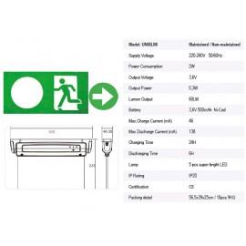 DIZLED SLim LED IP20 Plexi állandó 3h